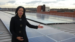 Cllr Webbe Solar Panels Islington Council