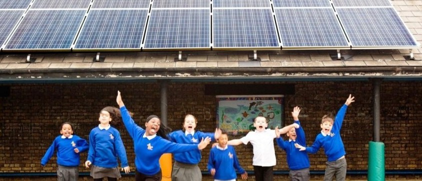 Robert Blair Primary Solar Schools community sponsored panels